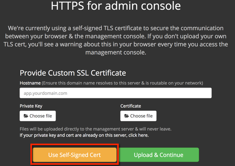 Replicated HTTPS setup