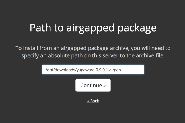 Replicated License Airgapped Path