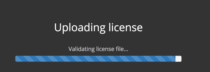 Replicated License Online Progress